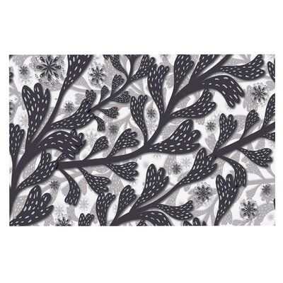 Akwaflorell Snow Houses Abstract Doormat