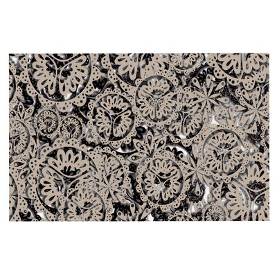Akwaflorell Snowflakes Geometric Doormat