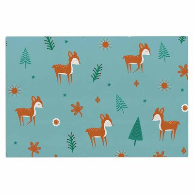 Cristina Bianco Cute Deer Kid Doormat