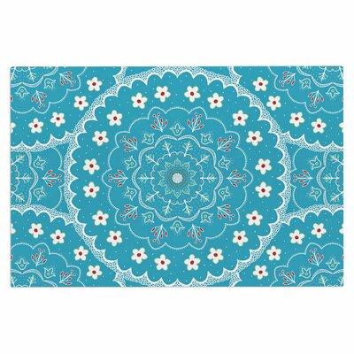 Cristina Bianco Mandala Floral Doormat