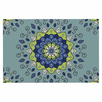 Cristina Bianco Mandala Geometric Doormat