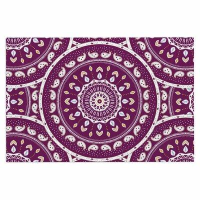 Cristina Bianco Mandala Abstract Doormat
