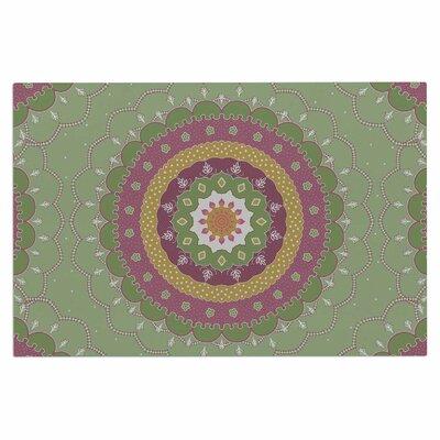 Cristina Bianco Mandala Illustration Doormat