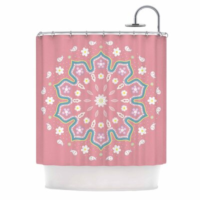 Cristina Bianco Mandala II Shower Curtain