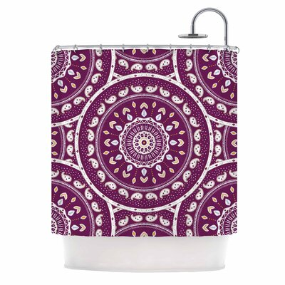 Cristina Bianco Mandala Abstract Shower Curtain