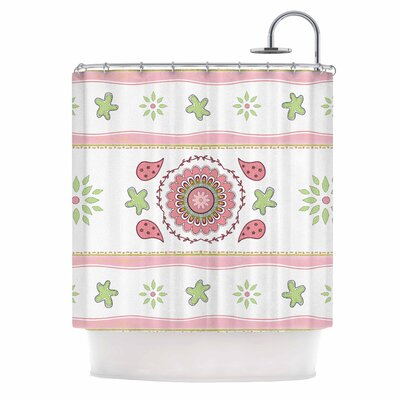 Cristina Bianco Mandala Shower Curtain