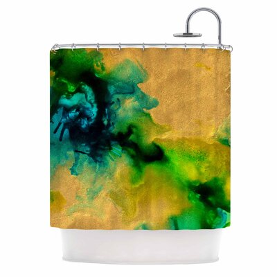 Claire Day Glamorous Abstract Shower Curtain