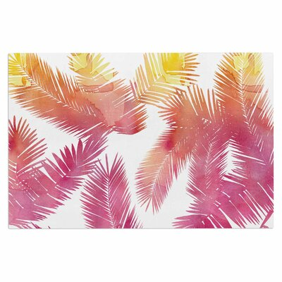 Draper Tropic Summer Nature Doormat Color: Pink