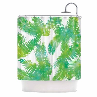 Draper Tropic Summer Nature Shower Curtain