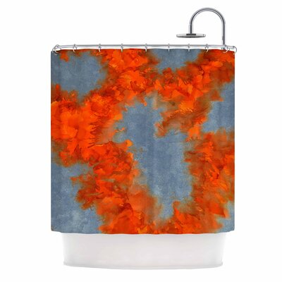 Claire Day Broken Promises Abstract Shower Curtain