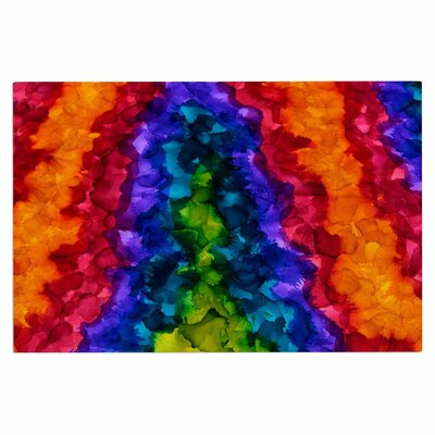 Claire Day Illusions Abstract Doormat