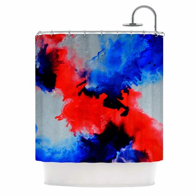 Claire Day Glory Abstract Shower Curtain