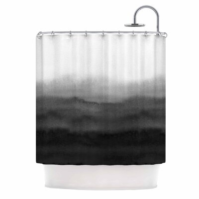 Draper Ombre ink Wash Shower Curtain