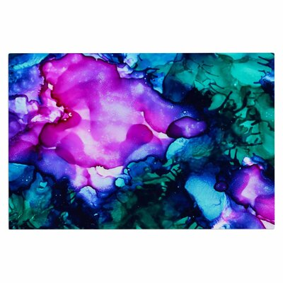 Claire Day Nebula Abstract Doormat