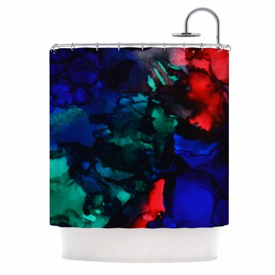 Claire Day Harmony Abstract Shower Curtain