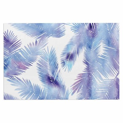 Draper Tropic Summer Nature Doormat Color: Breeze/Blue