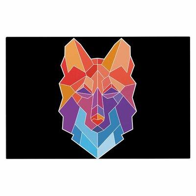 Draper Prism Wolf Doormat