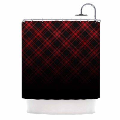 Draper Timber Digital Shower Curtain