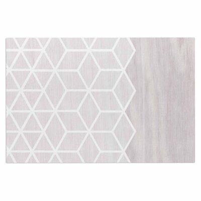 Draper Geo Woodgrain Doormat