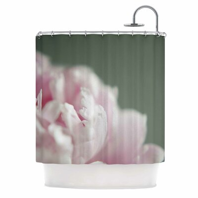 Cristina Mitchell a Single Peony Photography Shower Curtain