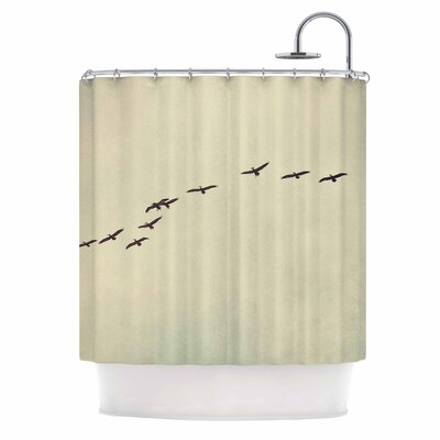 Cristina Mitchell in Flight Photography Shower Curtain