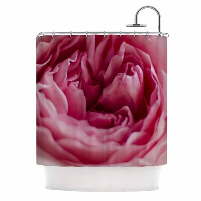 Cristina Mitchell a Single Rose Floral Photography Shower Curtain