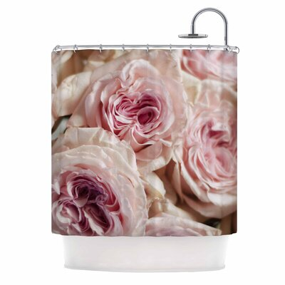 Crissy Mitchell Roses Floral Shower Curtain