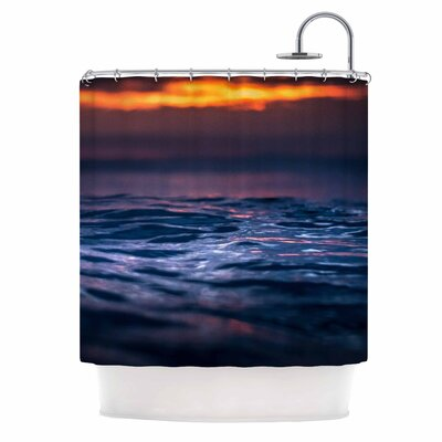 Colin Pierce Night Fire Photography Shower Curtain