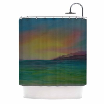 Cyndi Steen Christys Island Shower Curtain