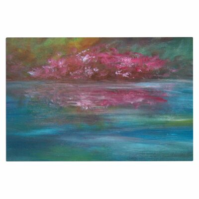 Cyndi Steen Bougainvillea Reflections Doormat