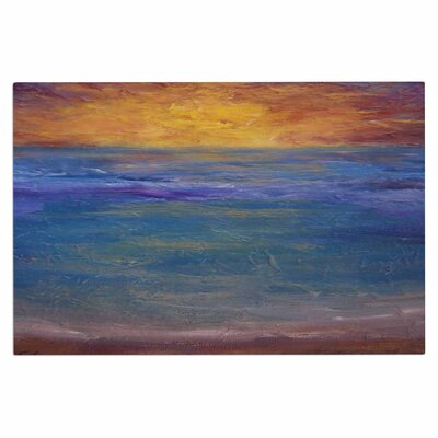 Cyndi Steen Sky on Fire Doormat