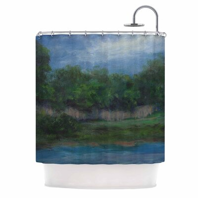Cyndi Steen a Cooler View Shower Curtain