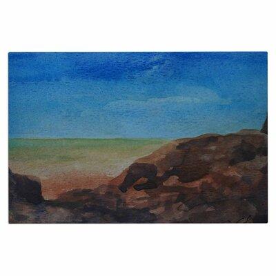 Cyndi Steen Beach Rocks Coastal Doormat