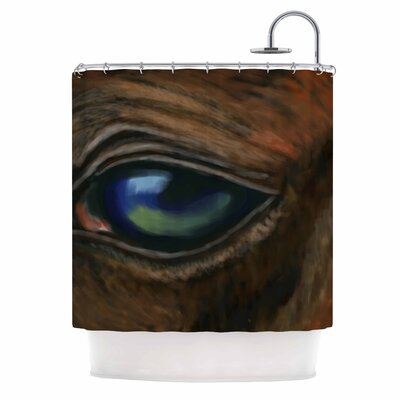Cyndi Steen Arabian Eye Shower Curtain