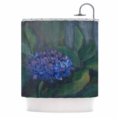 Cyndi Steen Hydrangea Shower Curtain