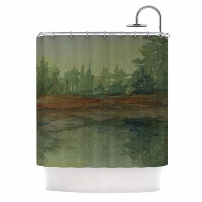 Cyndi Steen Reflections Shower Curtain