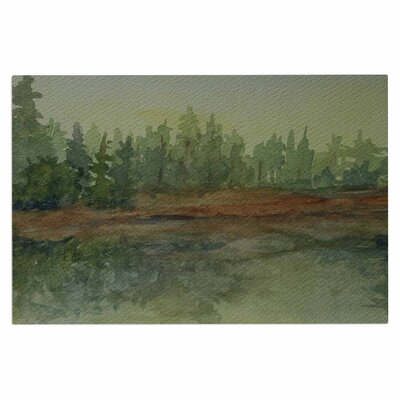 Cyndi Steen Reflections Watercolor Doormat