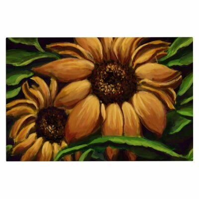 Cyndi Steen Sunflower Days Floral Doormat