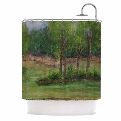 Cyndi Steen a Storm at the Strand Shower Curtain