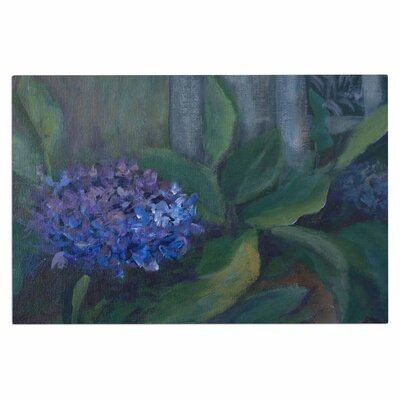 Cyndi Steen Hydrangea Floral Doormat