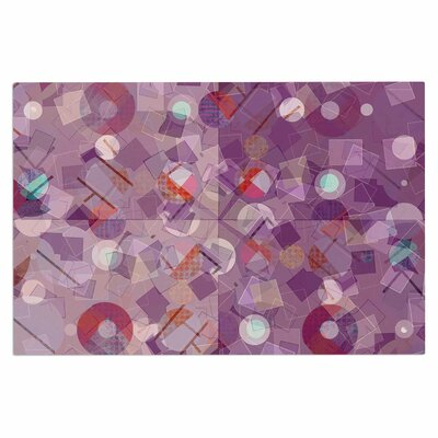 Cvetelina Todorova Mess Abstract Doormat