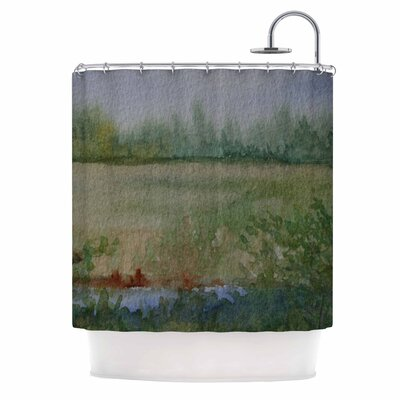 Cyndi Steen Land That I Love Shower Curtain