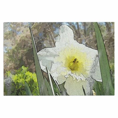 Cyndi Steen Daffodil Digital Doormat