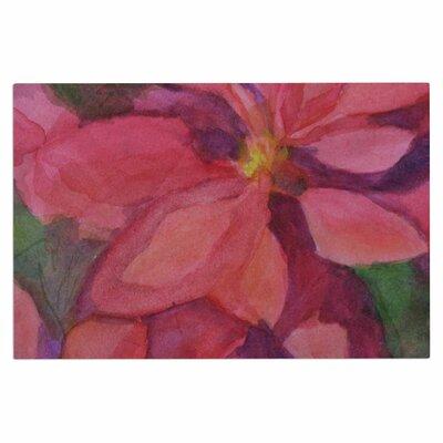 Cyndi Steen Cool Poinsettias Doormat