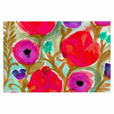 Crystal Walen Fiona Flower Doormat