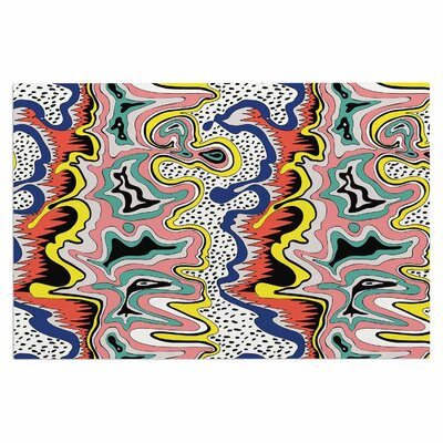 DLKG Modern Expression Abstract Illustraion Doormat