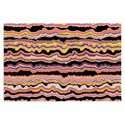 DLKG Expressive Lines Illustration Doormat