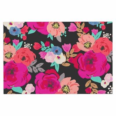 Crystal Walen Sweet Pea Floral Doormat