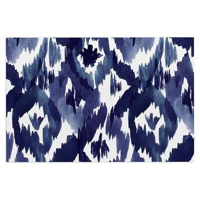 Crystal Walen Ikat Diamond Doormat