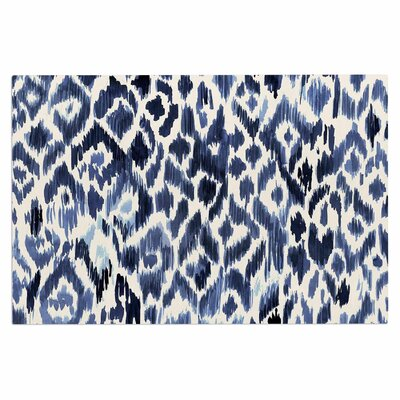 Crystal Walen Leopard Tribal Watercolor Doormat